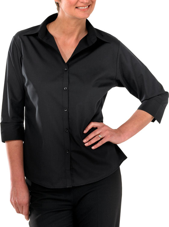 LADIES BLOUSE 3/4 SLEEVE - CCLBBL