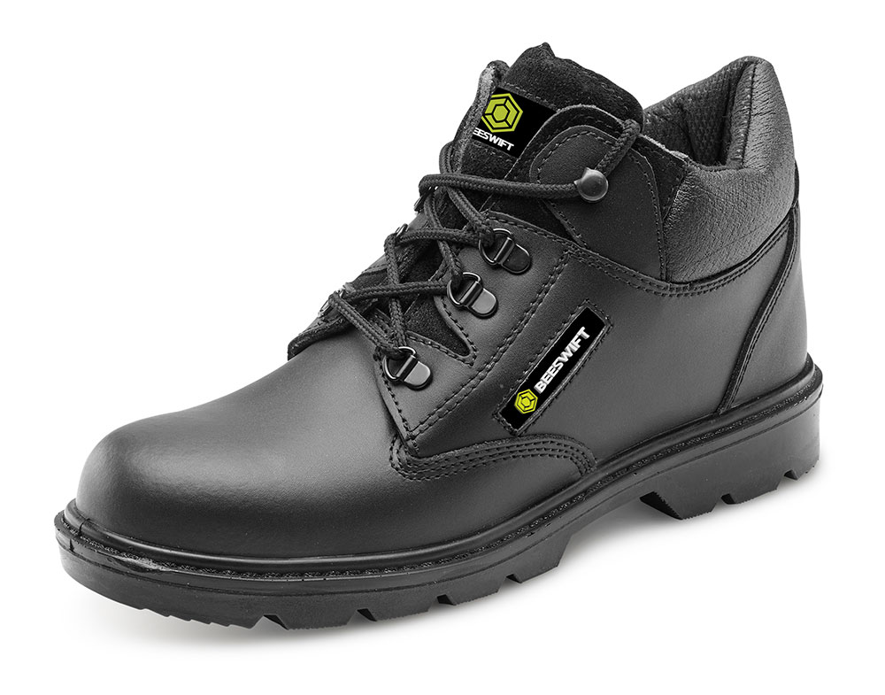 CLICK LEATHER MID CUT MIDSOLE BOOT - CF4