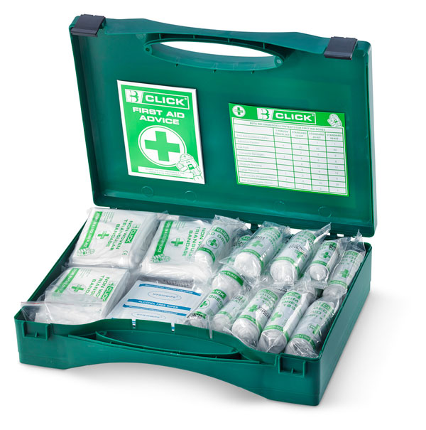 11-25 PERSON HSA IRISH FIRST AID KIT WITH BURN DRESSINGS - CM0025