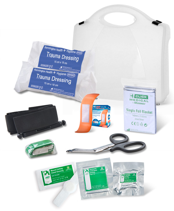 BS8599-1:2019 CRITICAL INJURY PACK HIGH RISK IN BOX - CM0084
