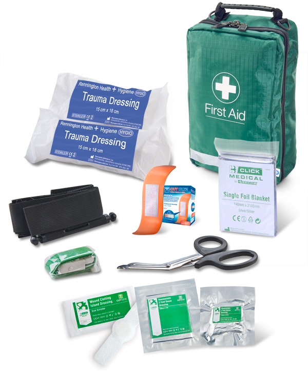 BS8599-1:2019 CRITICAL INJURY PACK HIGH RISK IN BAG - CM0085
