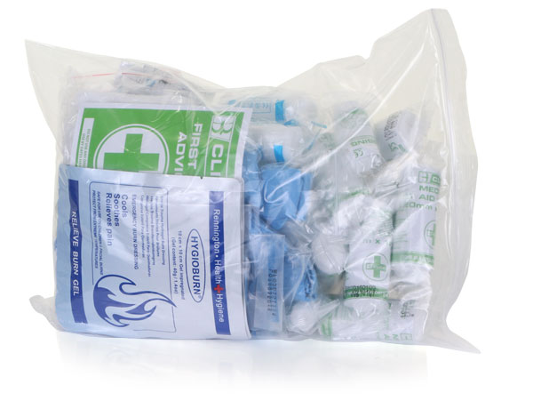 TRAVEL BS8599 FIRST AID KIT REFILL SMALL - CM0136
