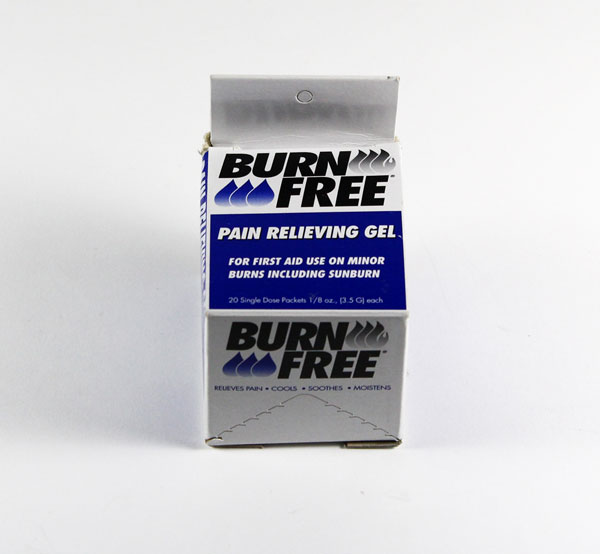 BURN FREE BURNS GEL SACHETS 20 PER BOX - CM0342