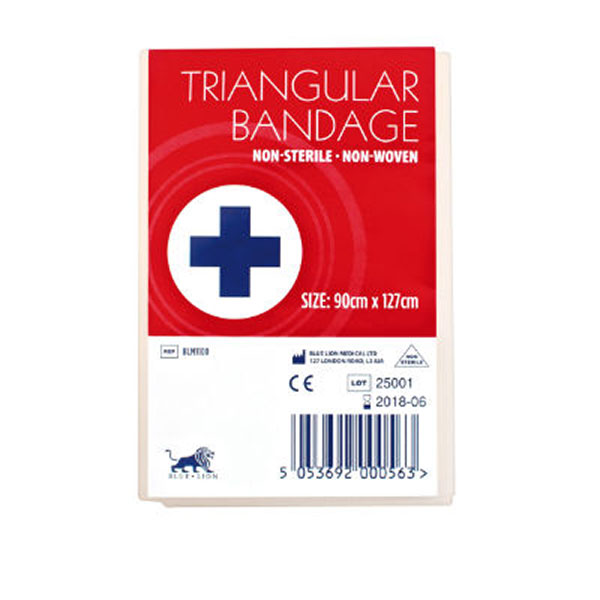 30GMS NON WOVEN TRIANGULAR BANDAGE PACK 10 - CM0404