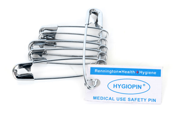 HYGIO PIN SAFETY PINS PK 6  - CM0469