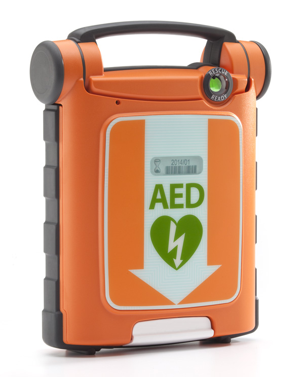 CARDIAC SCIENCE G5 AED FULLY AUTOMATIC DEFIBRILTLATOR + CPR DEVICE + CARRY SLEEVE + READY KIT - CM1201