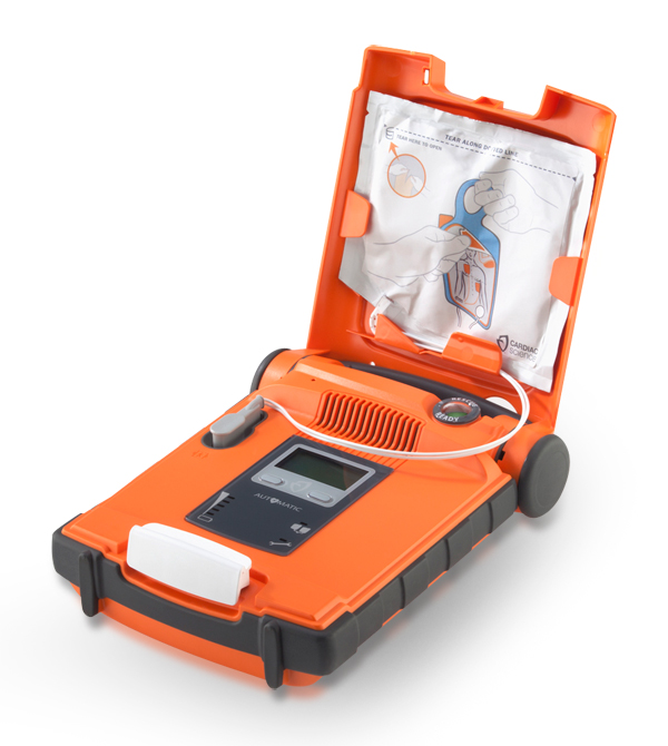 CARDIAC SCIENCE G5 AED SEMI AUTOMATIC DEFIBRILLATOR - CM1202