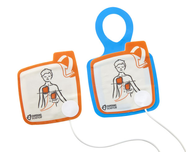 CARDIAC SCIENCE INFANT DEFIBRILLATOR PADS - CM1205