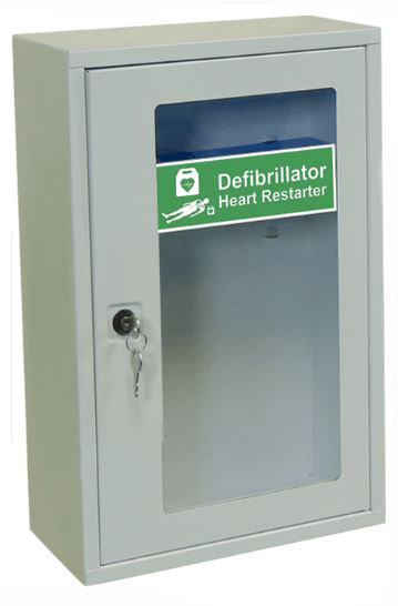 INDOOR DEFIBRILLATOR CABINET WITH KEY LOCK - CM1224