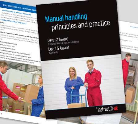 MANUAL HANDLING BOOK - CM1319