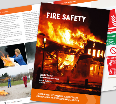 FIRE SAFETY BOOK  - CM1320