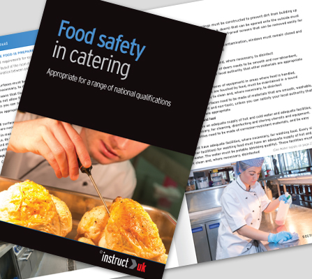 FOOD SAFETY IN CATERING BOOK - CM1321