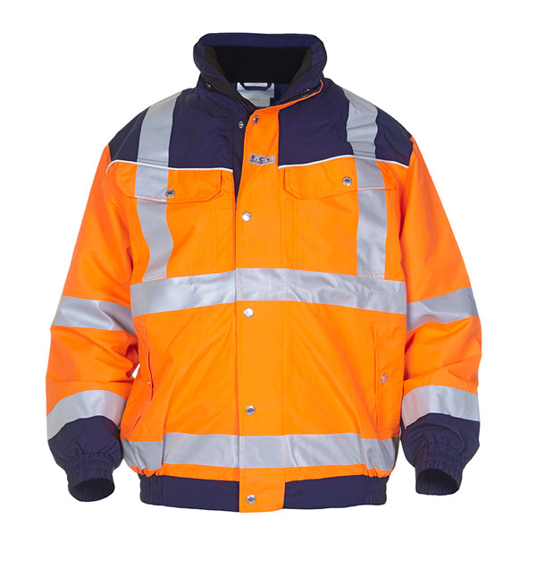 FURTH HIVIS SNS PILOT JACKET TWO TONE - HYD02159ORN