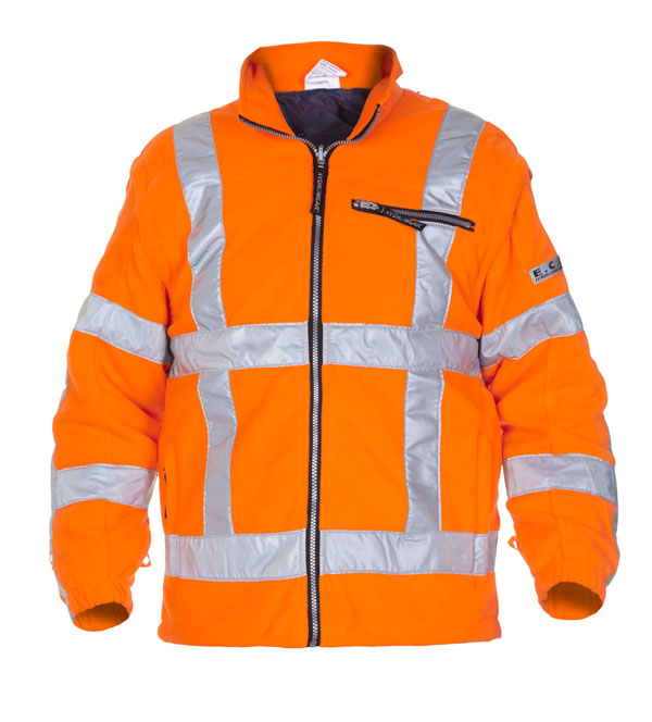 FRANEKER HIGH VISIBILITY FLEECE ORANGE - HYD04026FLOR
