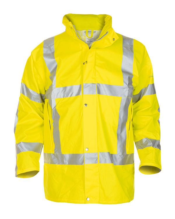 NEER MULTI HYDROSOFT FLAME RETARDANT ANTI-STATIC HIGH VISIBILITY WATERPROOF PARKA  - HYD065850SY