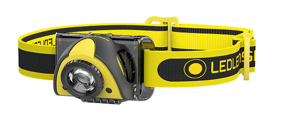 LEDLENSER ISE05R RECHARGEABLE HEAD LAMP - LED5805R