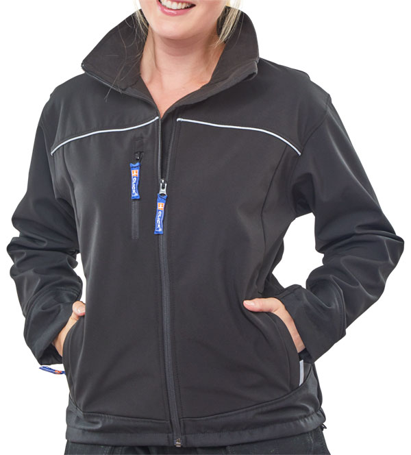 LADIES SOFT SHELL JACKET - LSSJ