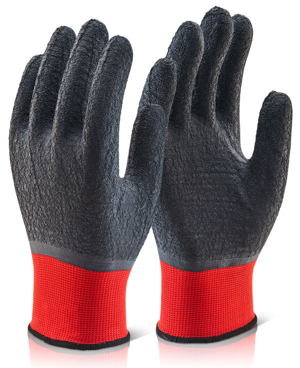 MULTI-PURPOSE FULLY COATED LATEX POLYESTER KNITTED GLOVE - MP4FC