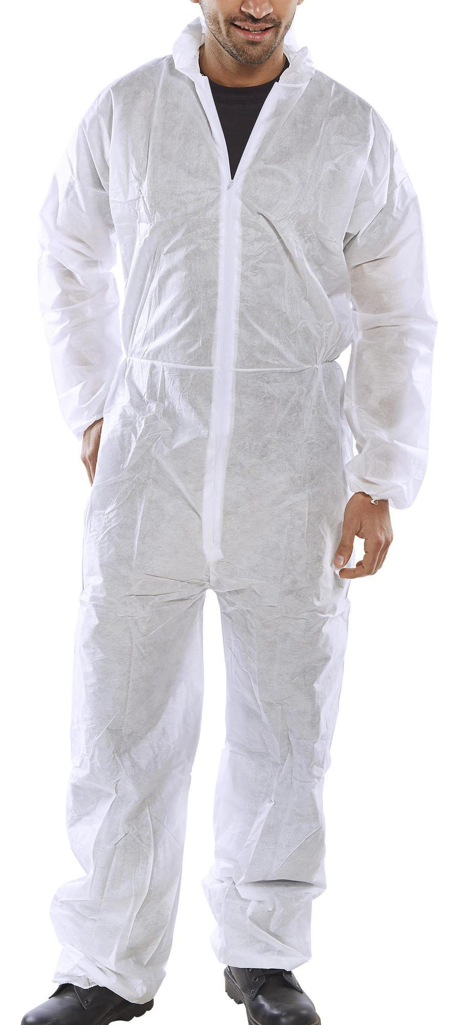 POLY PROP DISPOSABLE BOILERSUIT - PDBSH
