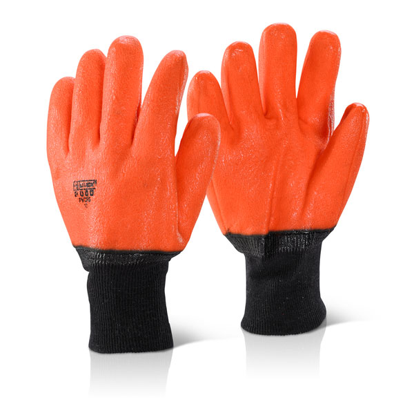 PVC FREEZER GLOVE LINED - PVCFG