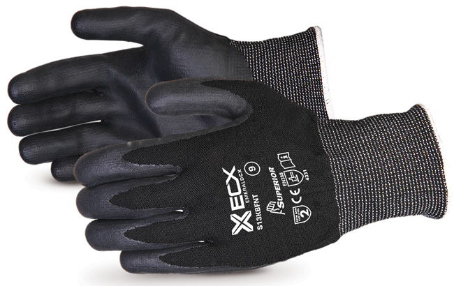 EMERALD CX NYLON/STAINLESS-STEEL CUT-RESISTANT STRING-KNIT GLOVE WITH NITRILE PALM - SUS13KBFNT
