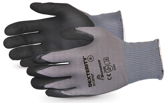 DEXTERITY® BLACK WIDOW GRIP HIGH ABRASION GLOVE - SUS13PNT