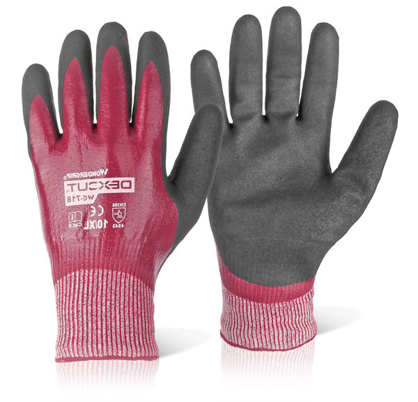 WG-718 DEXCUT NITRILE COATED GLOVE - WG718