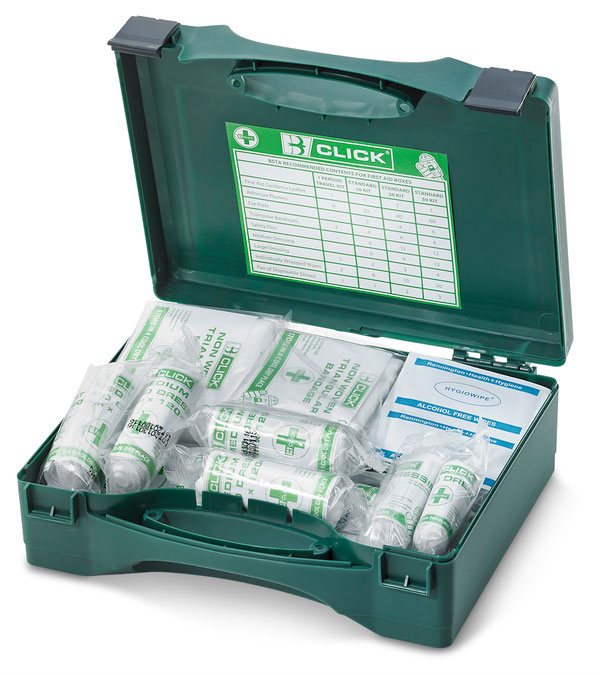 1-10 PERSON HSA IRISH FIRST AID KIT WITH BURN DRESSINGS - CM0015