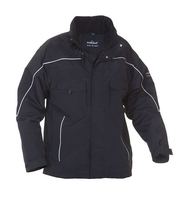 RIMINI SNS WATERPROOF FIXED LINING PILOT JACKET  - HYD04250BL