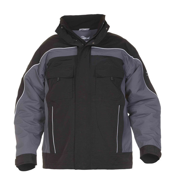 RIMINI SNS WATERPROOF FIXED LINING PILOT JACKET  - HYD04250GYBL
