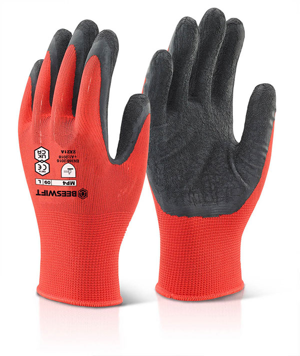 MULTI PURPOSE LATEX POLY GLOVE - MP4BL